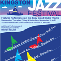 Kingston Jazz Festival Poster